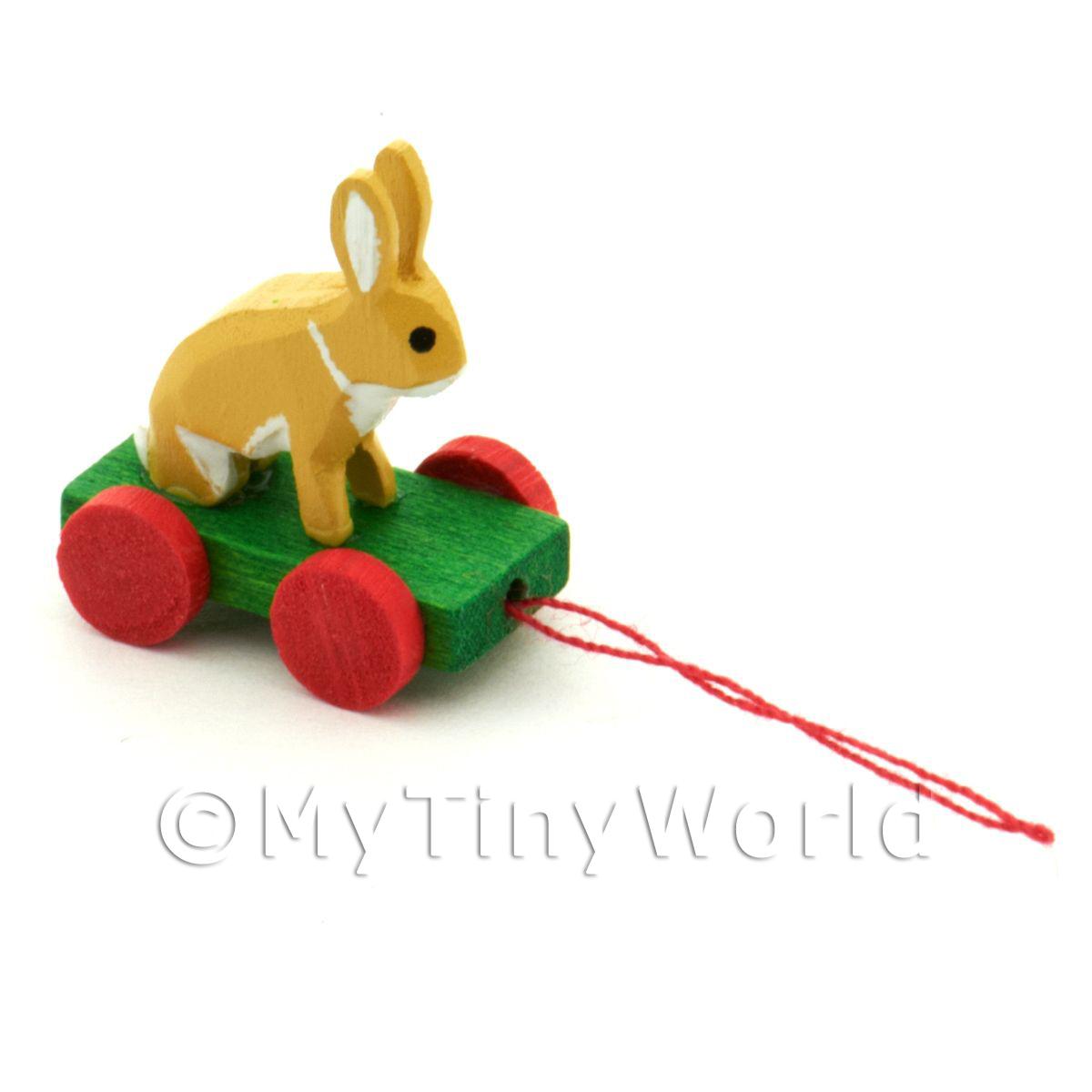 MyTinyWorld German Dolls House Miniature Set Of 3 Rabbits