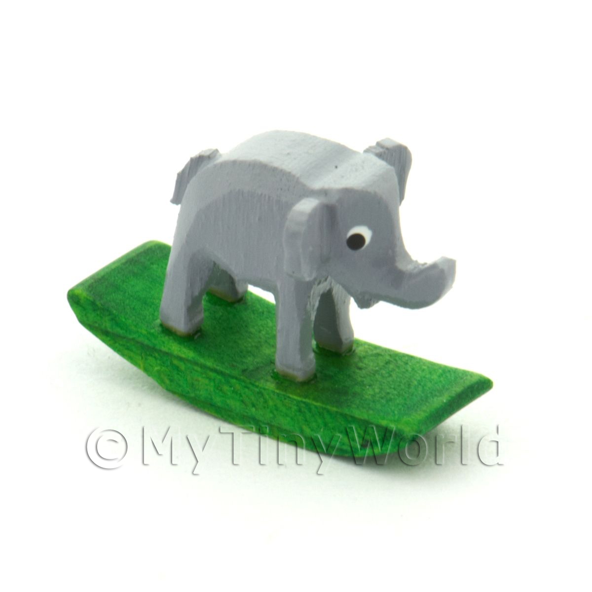 German Crafted Dolls House 20mm Rocking Elephant