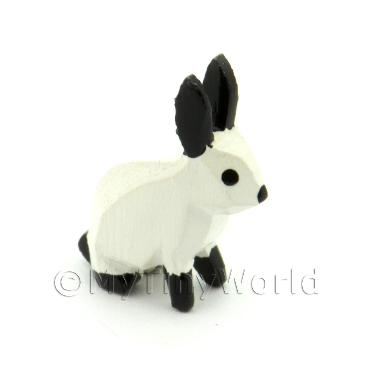 German Dolls House Miniature Small White Rabbit