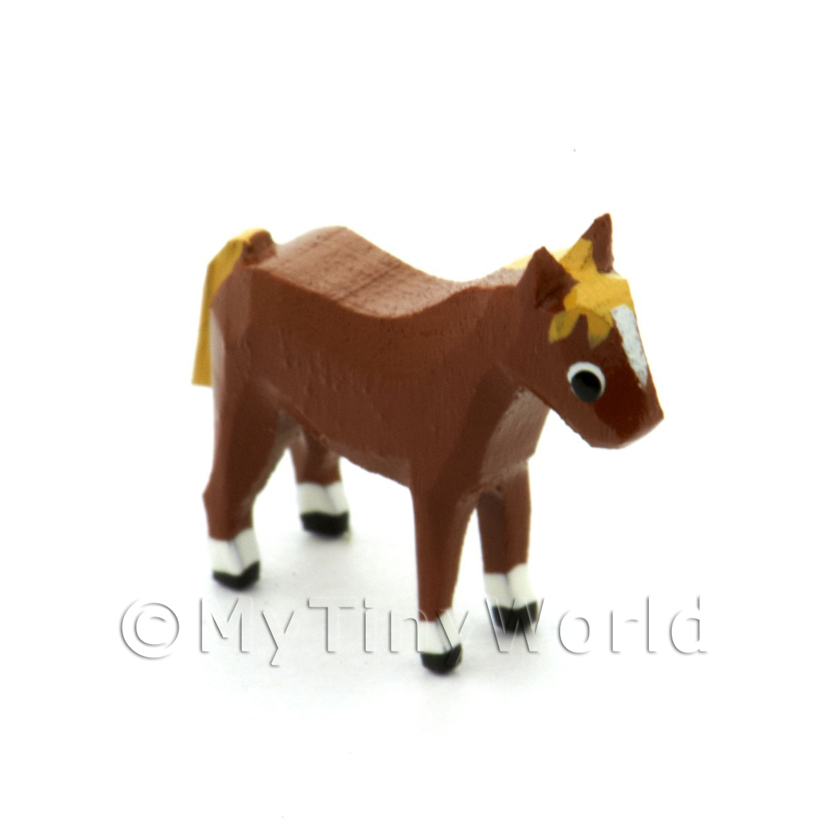German Dolls House Miniature Small Standing Horse