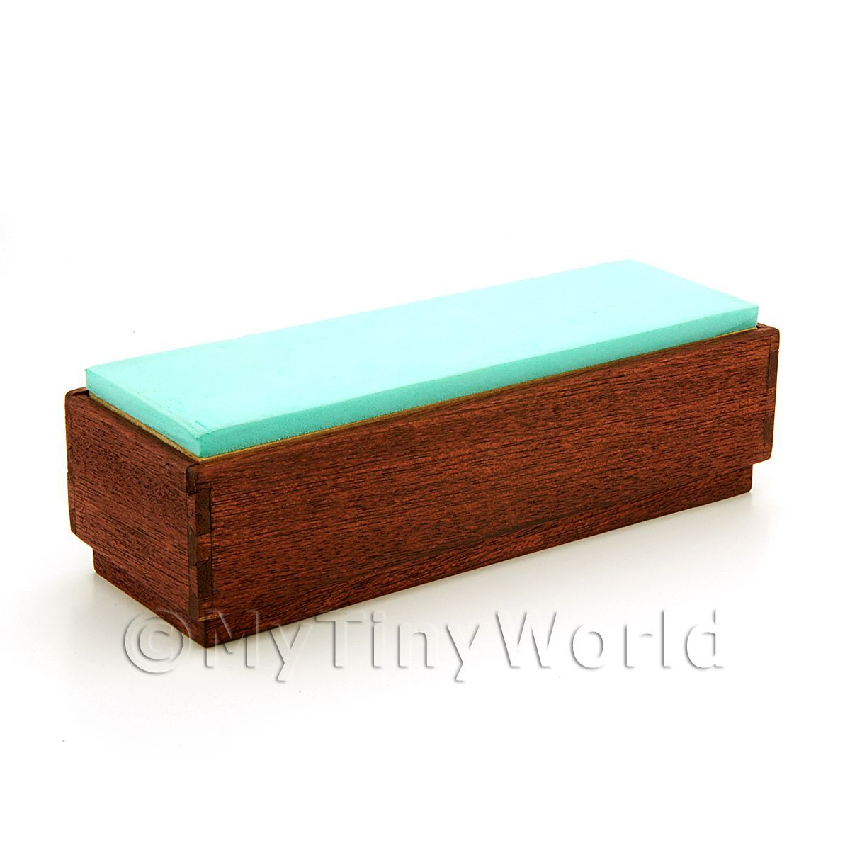 Handmade Dolls House Miniature Shop Bench Seat