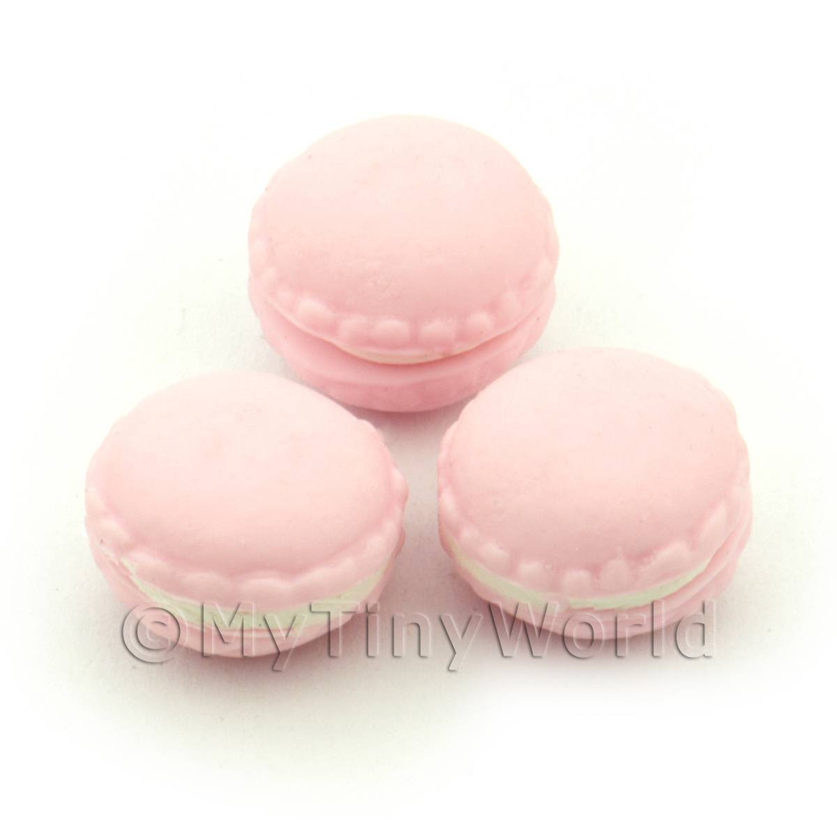 Handmade Light Pink Macaroon For Jewellery And Charms