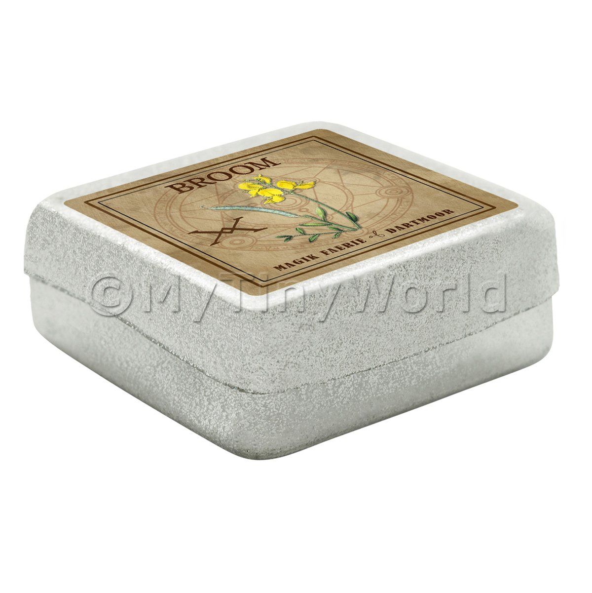 Dolls House Herbalist/Apothecary Broom Square Herb Box