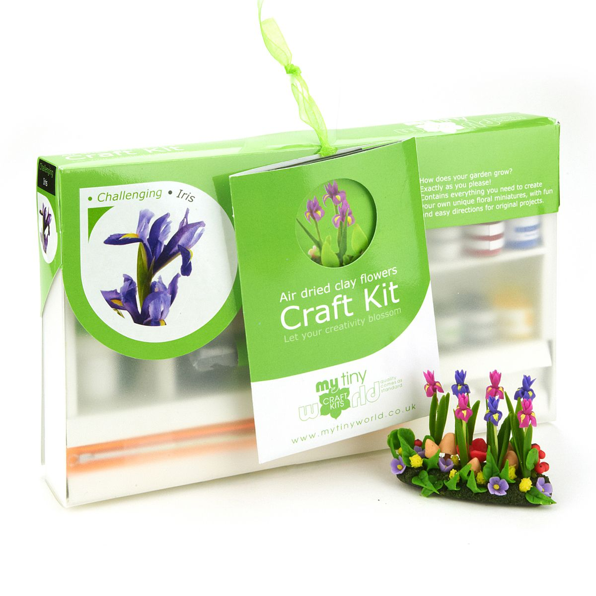 Dolls House Miniature Flower Kits Iris Kit Wiring View Larger Picture Or A Supersized