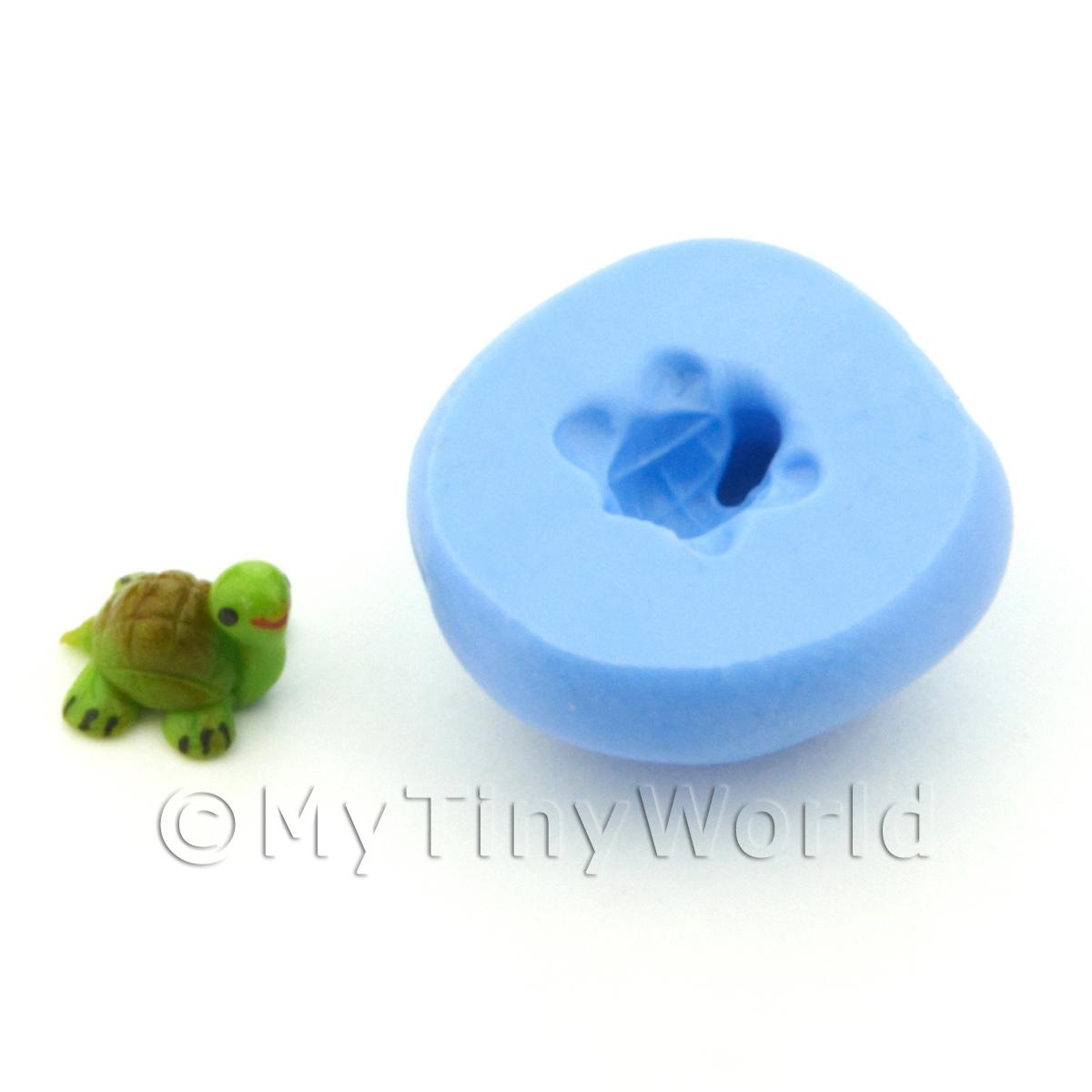 Dolls House Miniature 6mm Tortoise Silicone Mould