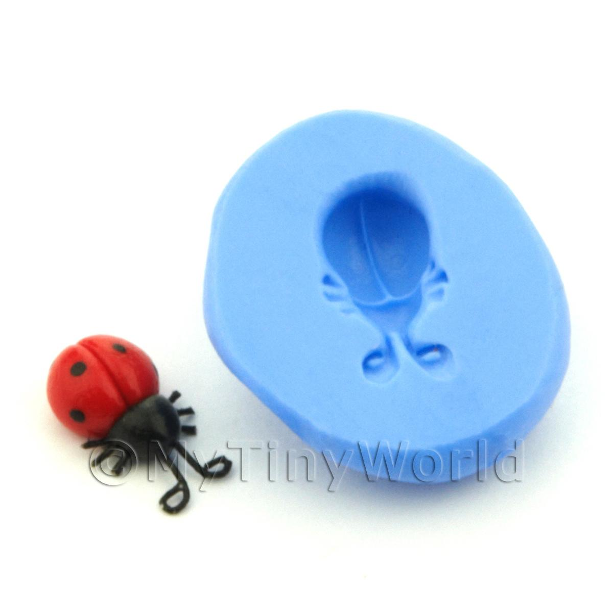 Dolls House Miniature Ladybird Silicone Mould