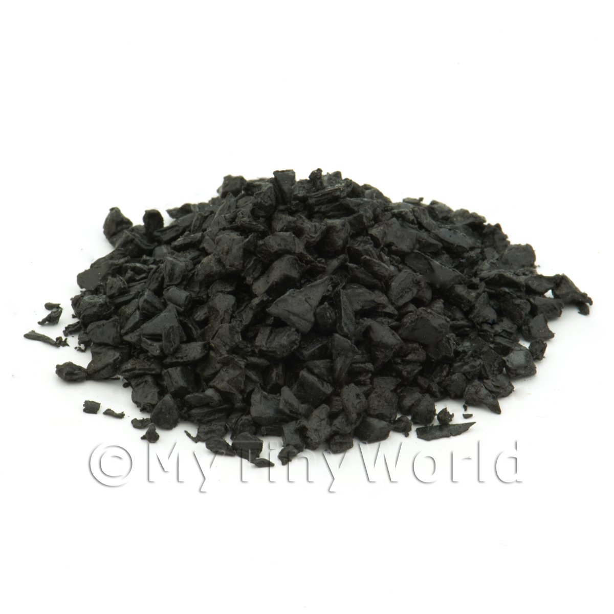 25 Grams Dolls House Miniature Replica Loose Coal