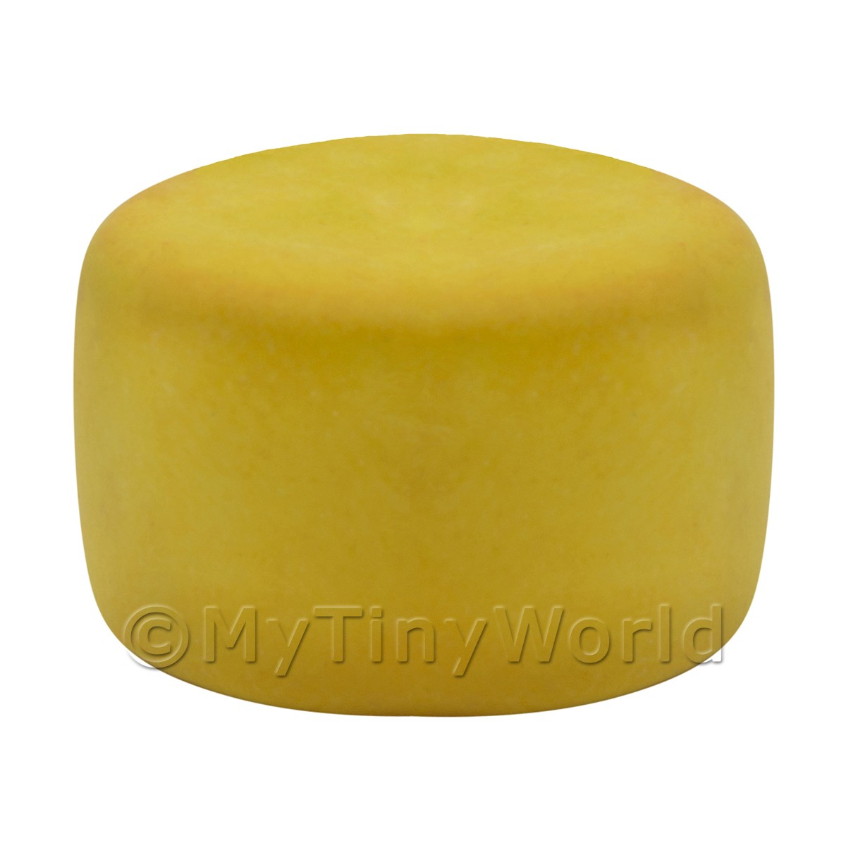 Dolls House Miniature Handmade Whole Piedmont Cheese Wheel