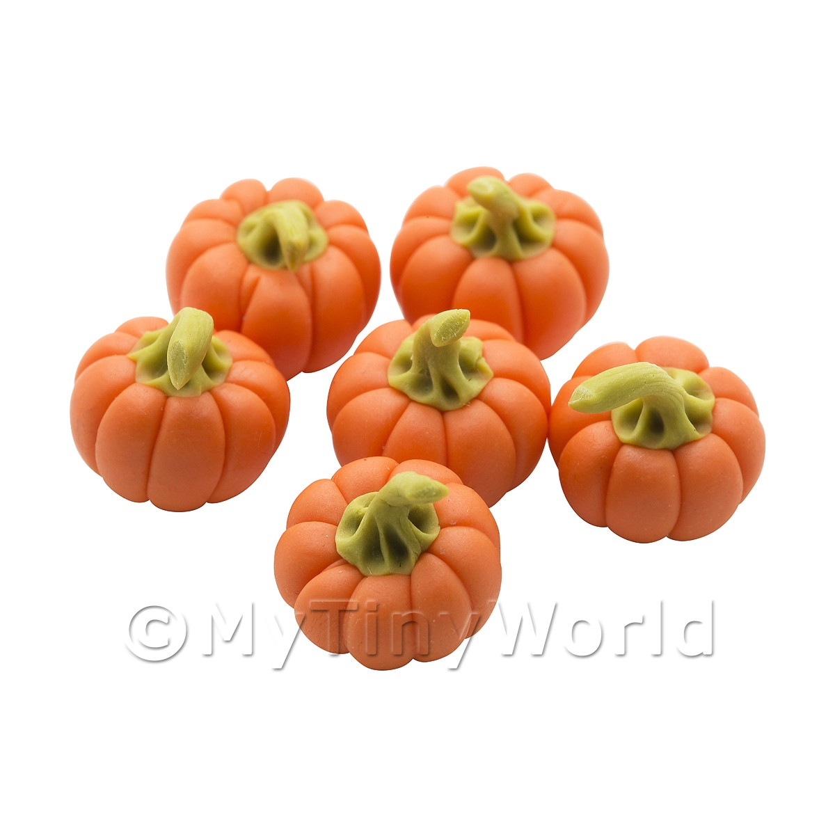 Dolls House Miniature Vegetables - Baby Pumpkin