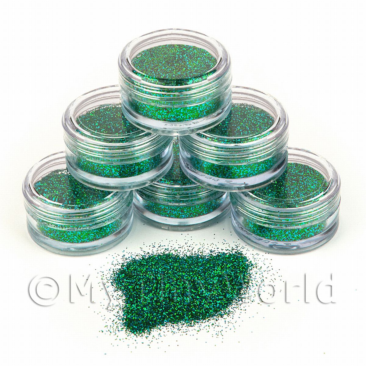 High Quality Nail Art Glitter - 2g Pot - Arabian Nights