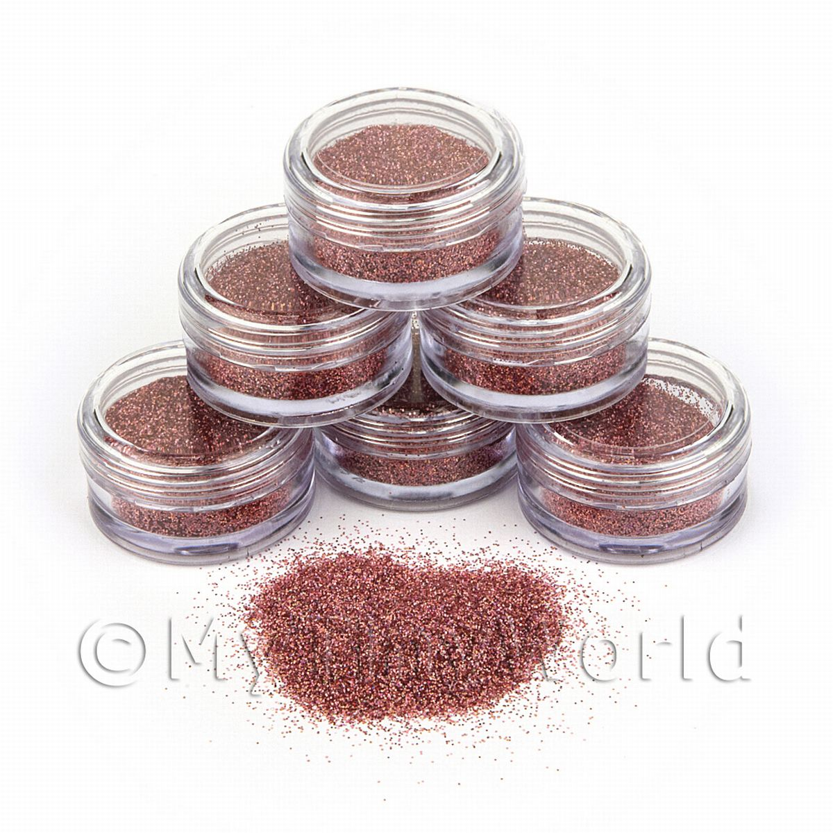 High Quality Nail Art Glitter - 2g Pot - Vibrant Violet
