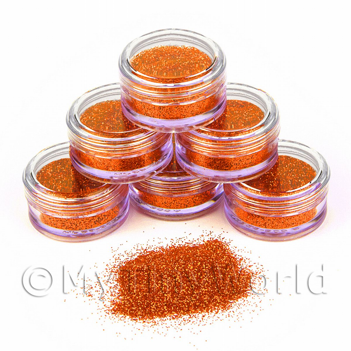 High Quality Nail Art Glitter - 2g Pot - Super Nova
