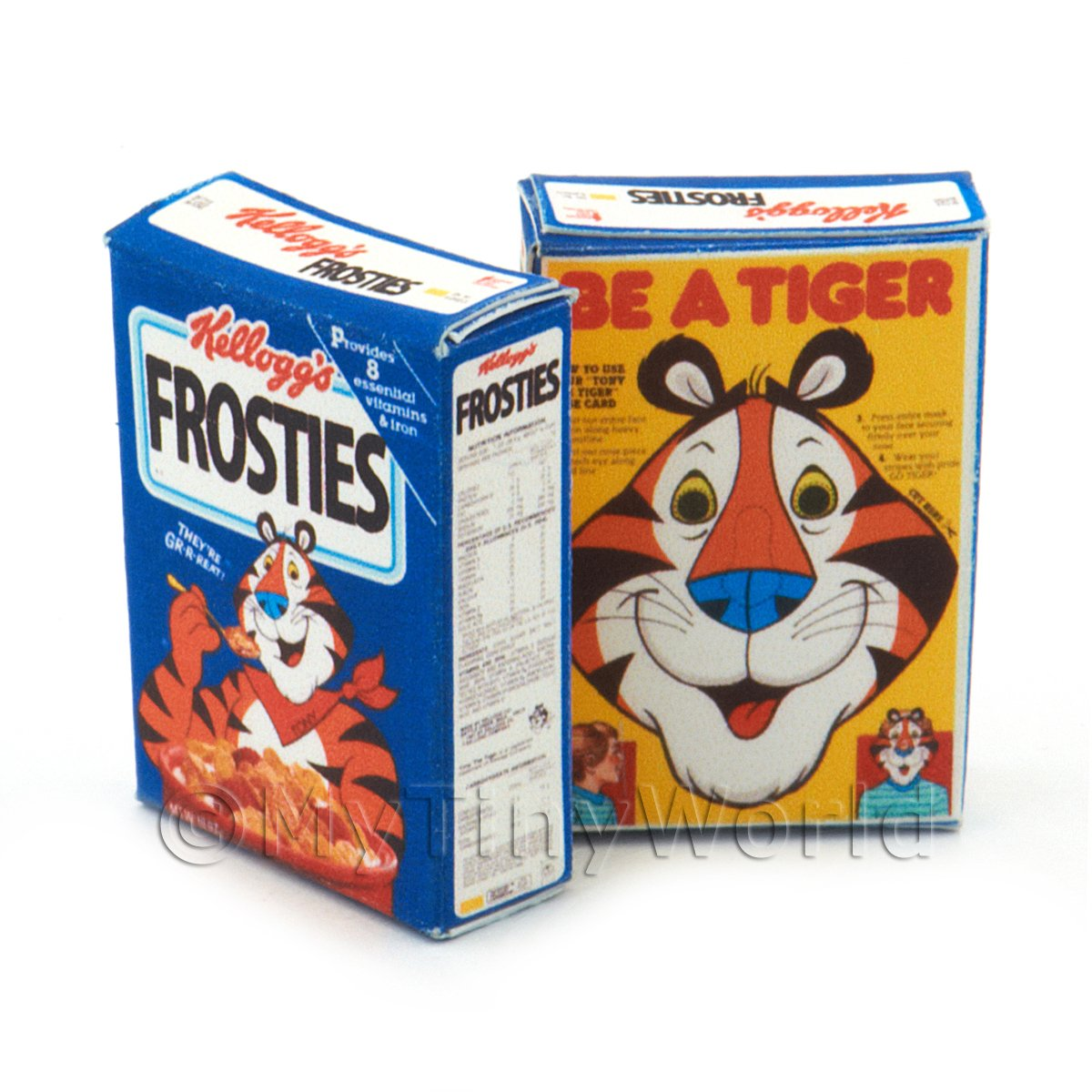 Dolls House Miniature Kelloggs Frosties Box From 1988