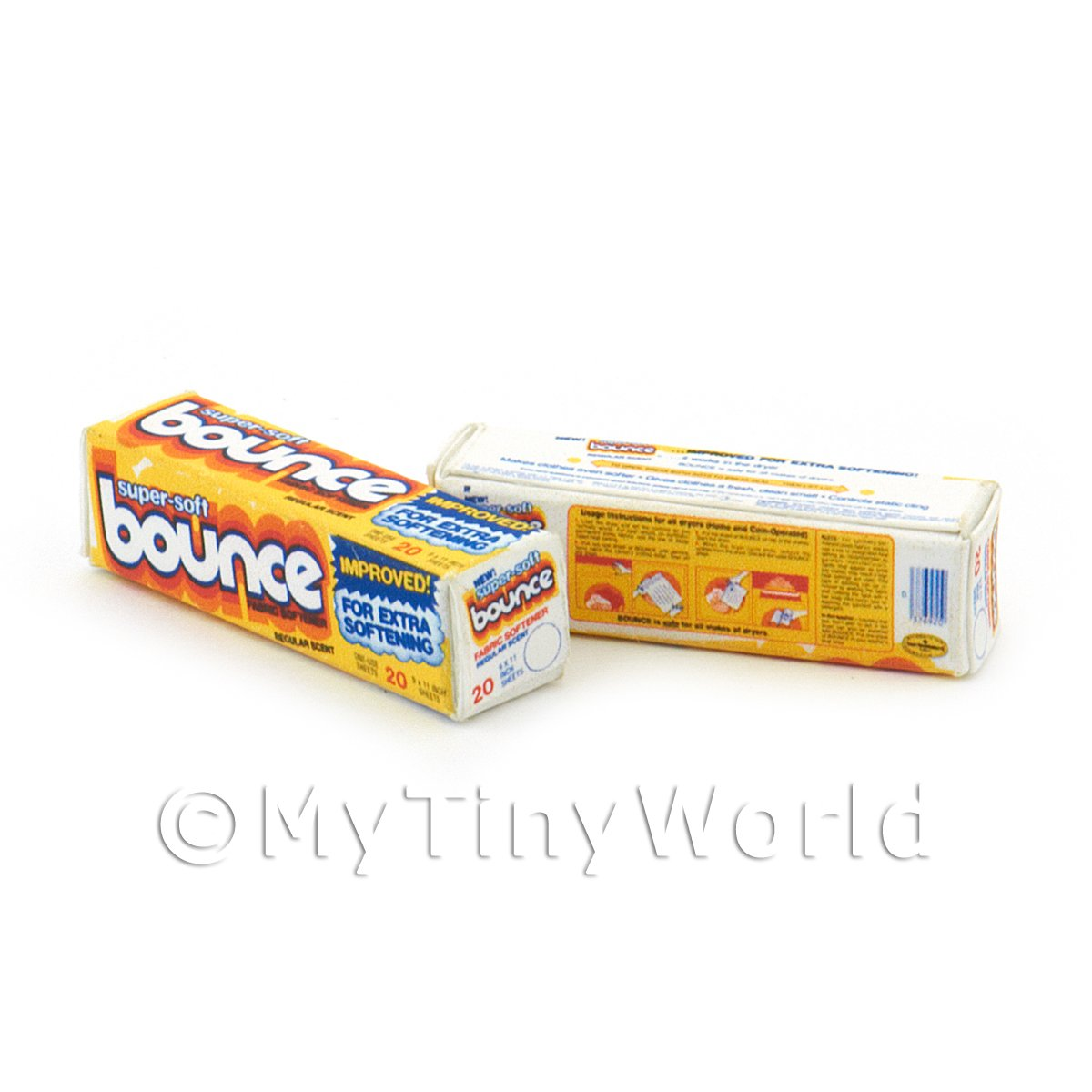 Dolls House Miniature Bounce Box From 1970s