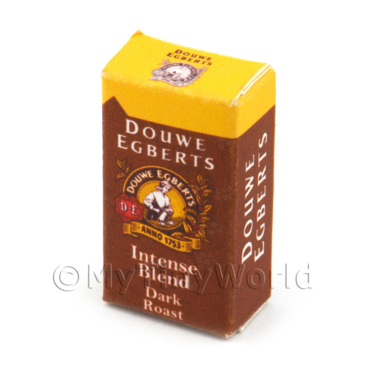 Dolls House Miniature Douwe Egberts Dark Roast Box