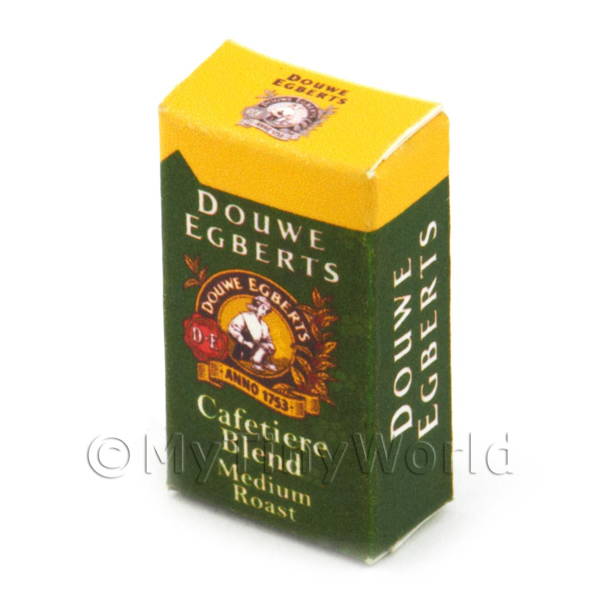 Dolls House Miniature Douwe Egberts Medium Roast Box