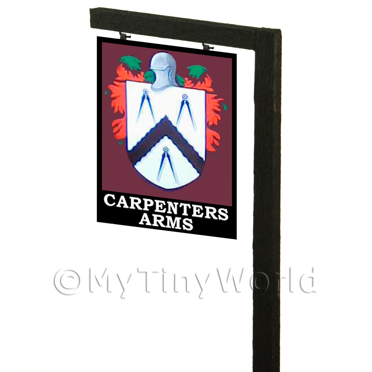 Free Standing Dolls House Pub / Tavern Sign - Carpenters Arms