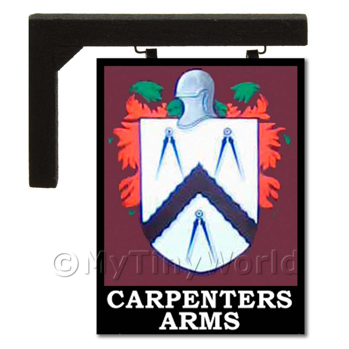 Wall Mounted Dolls House Pub / Tavern Sign - Carpenters Arms