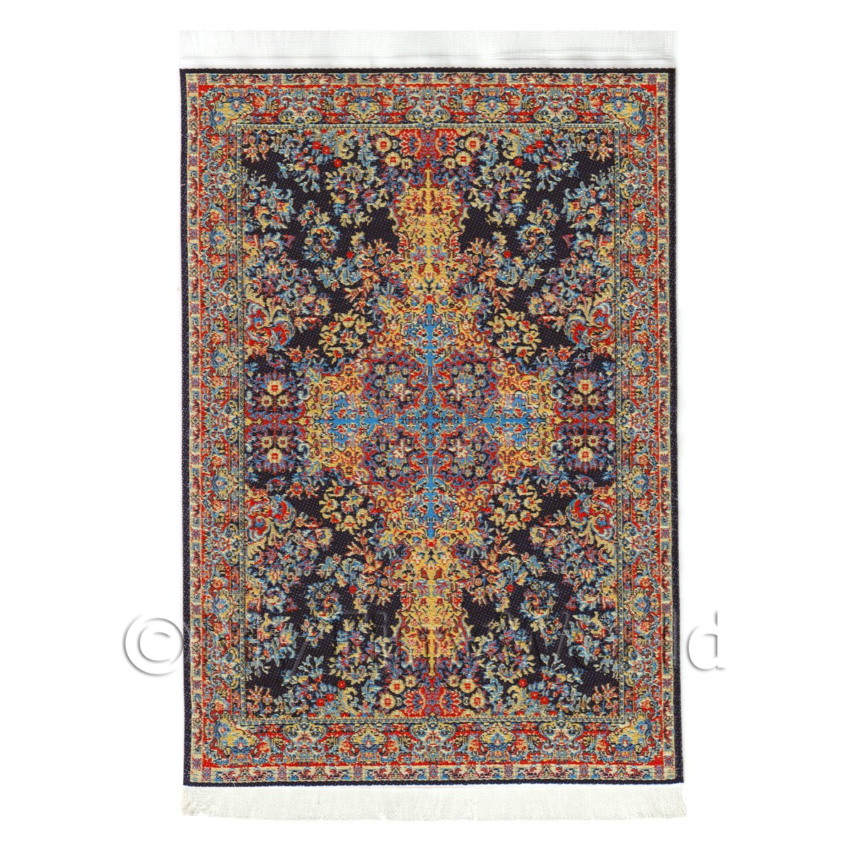 Dolls House Medium 16th Century Rectangular Carpet / Rug (16NM02)