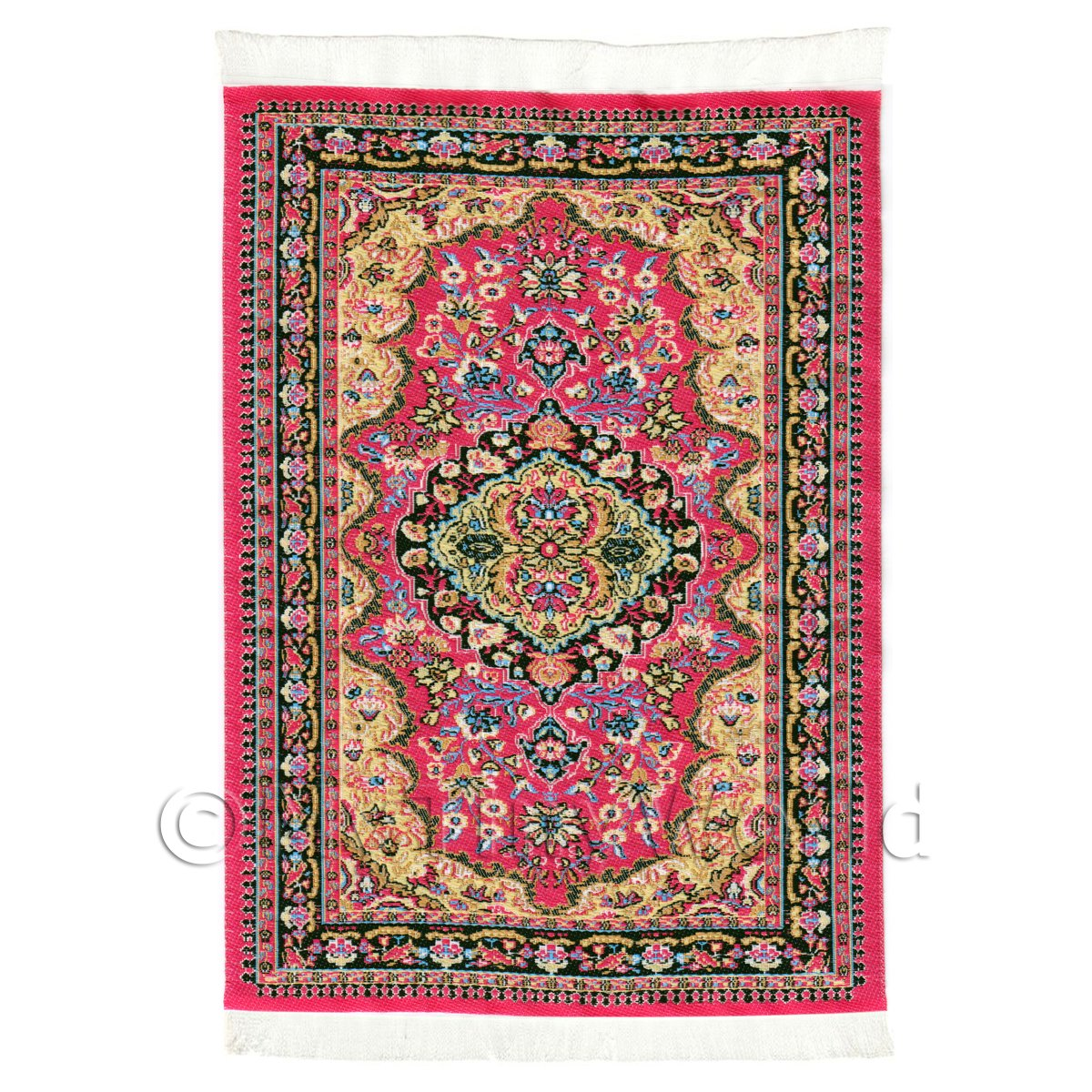 Dolls House Medium 16th Century Rectangular Carpet / Rug (16NMR04)
