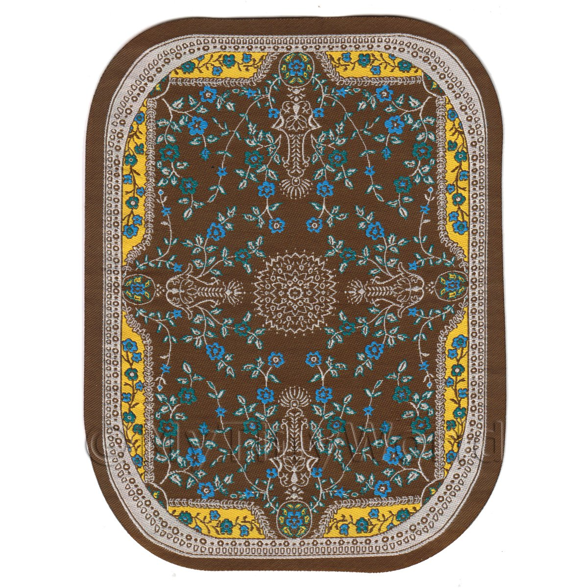 Large Oval Area Rugs: Dolls House Miniature Rugs And Carpets