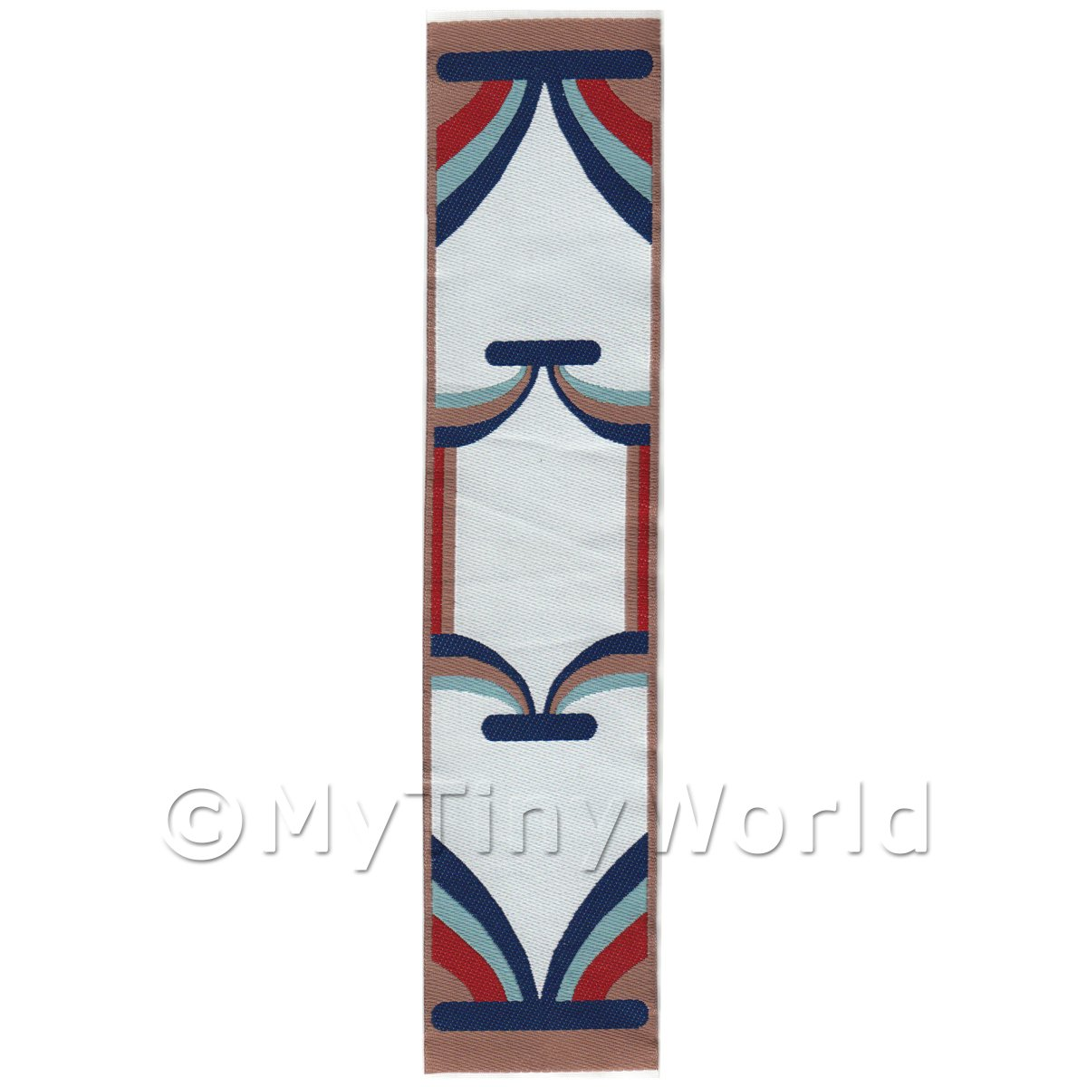 Dolls House Miniature 24cm Woven Turkish Hall Runner (TR069)