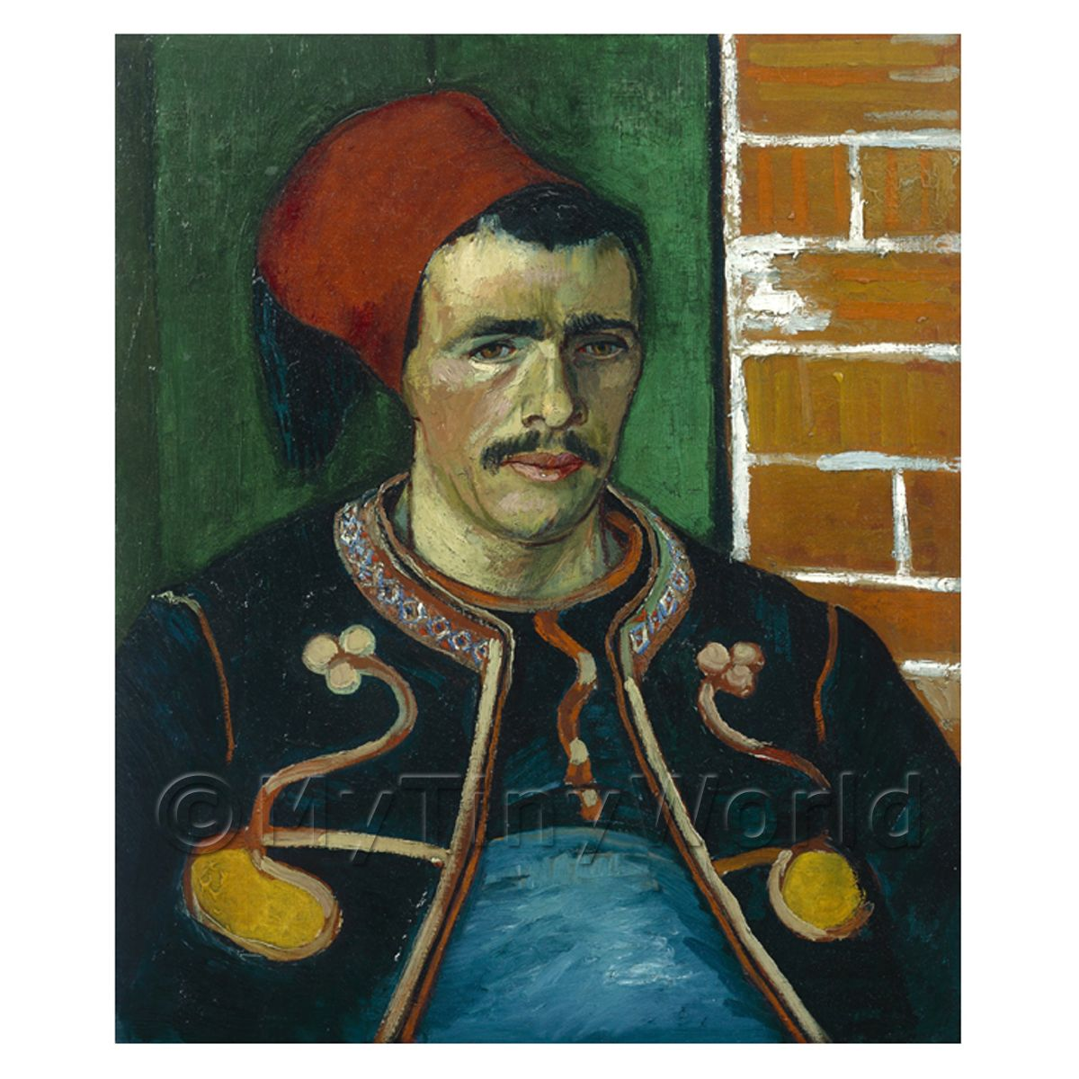Van Gogh Painting The Zouave