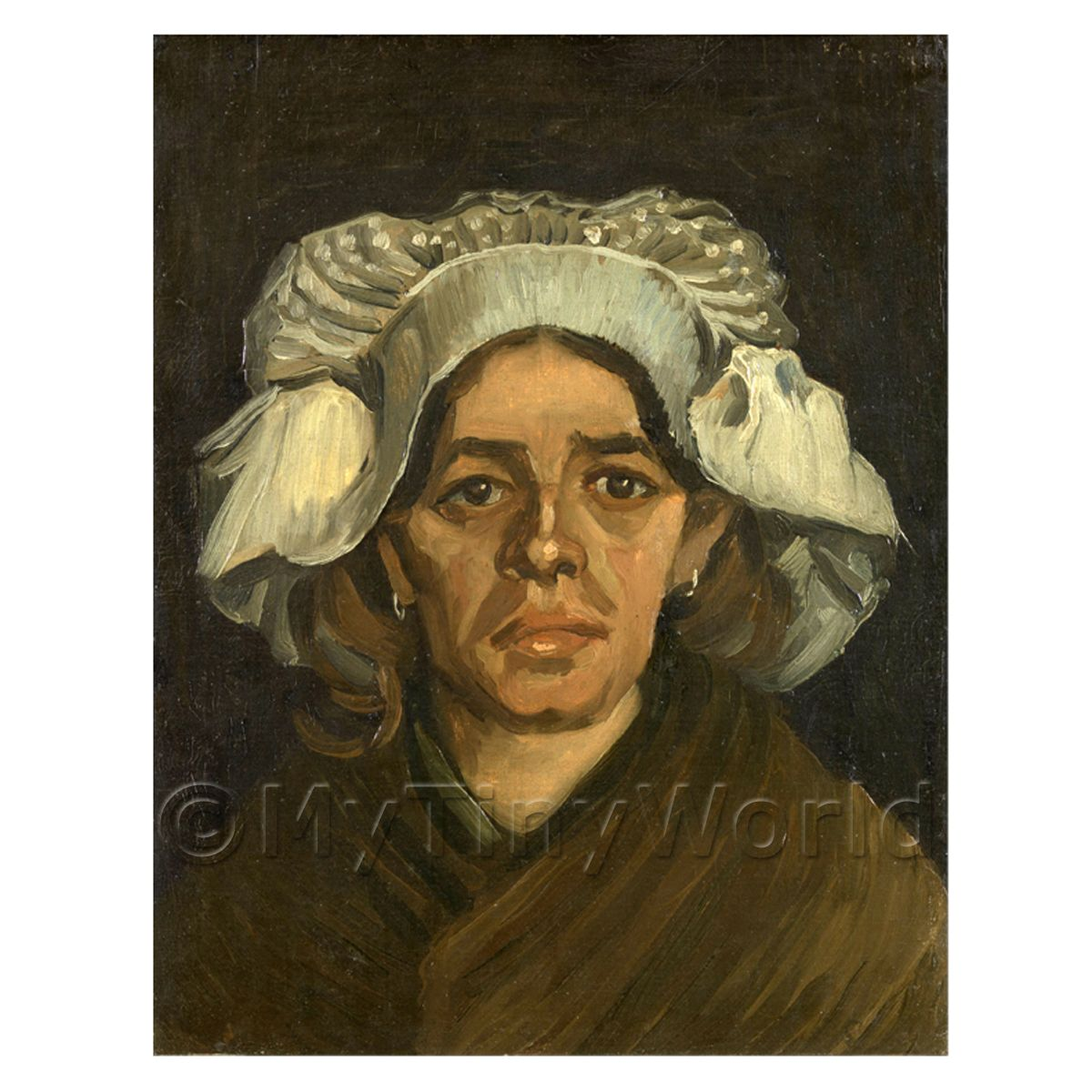 Van Gogh Painting Head of a Woman
