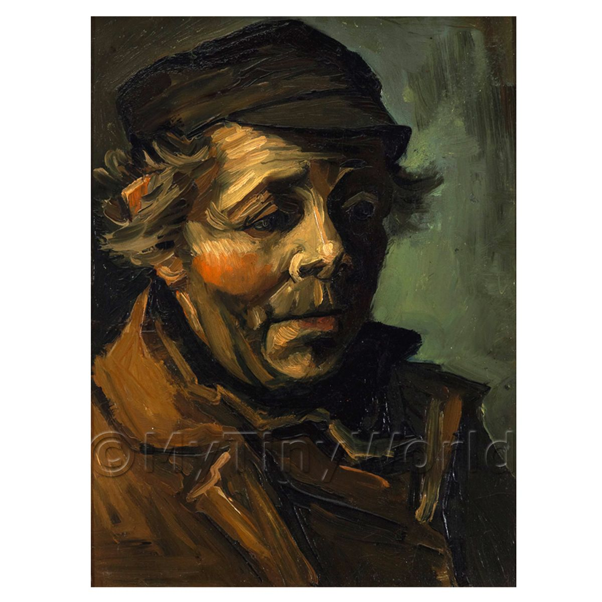 Van Gogh Painting Head of a Peasant