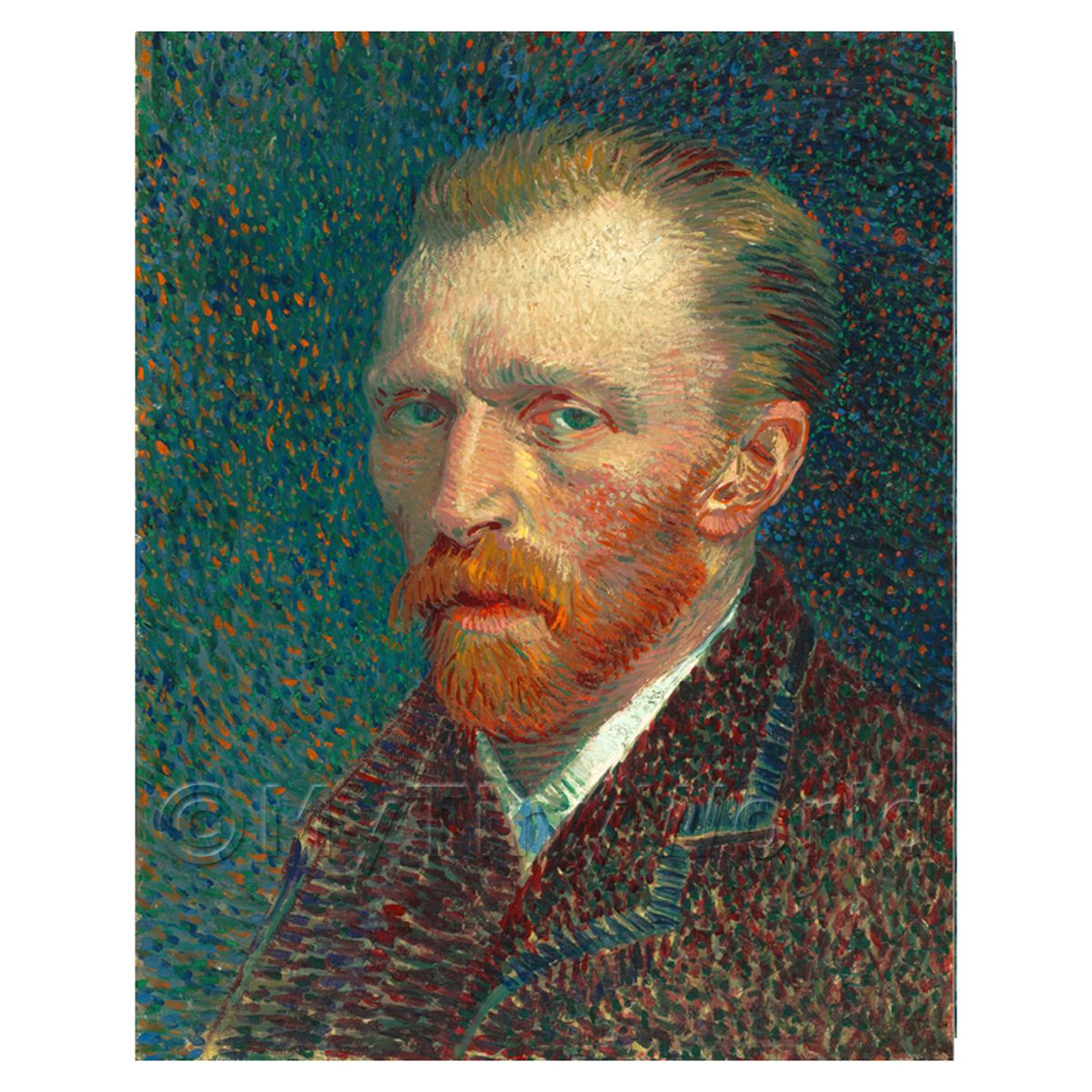 Van Gogh Painting Self Portrait Number Four