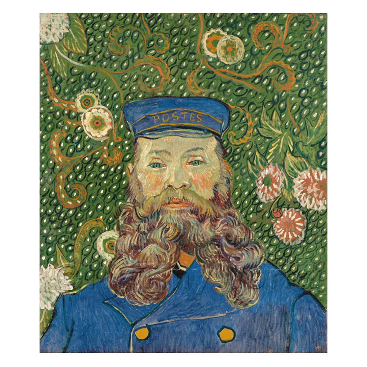 Van Gogh Painting Portrait of Joseph Roulin No.1