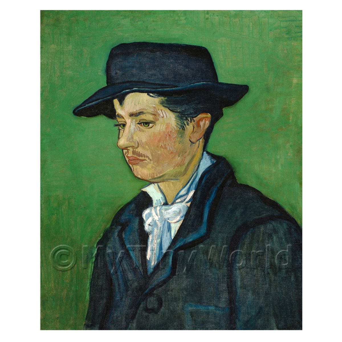 Van Gogh Painting Portrait of Armand Roulin