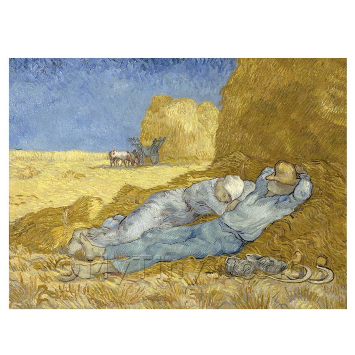 Van Gogh Painting The Siesta