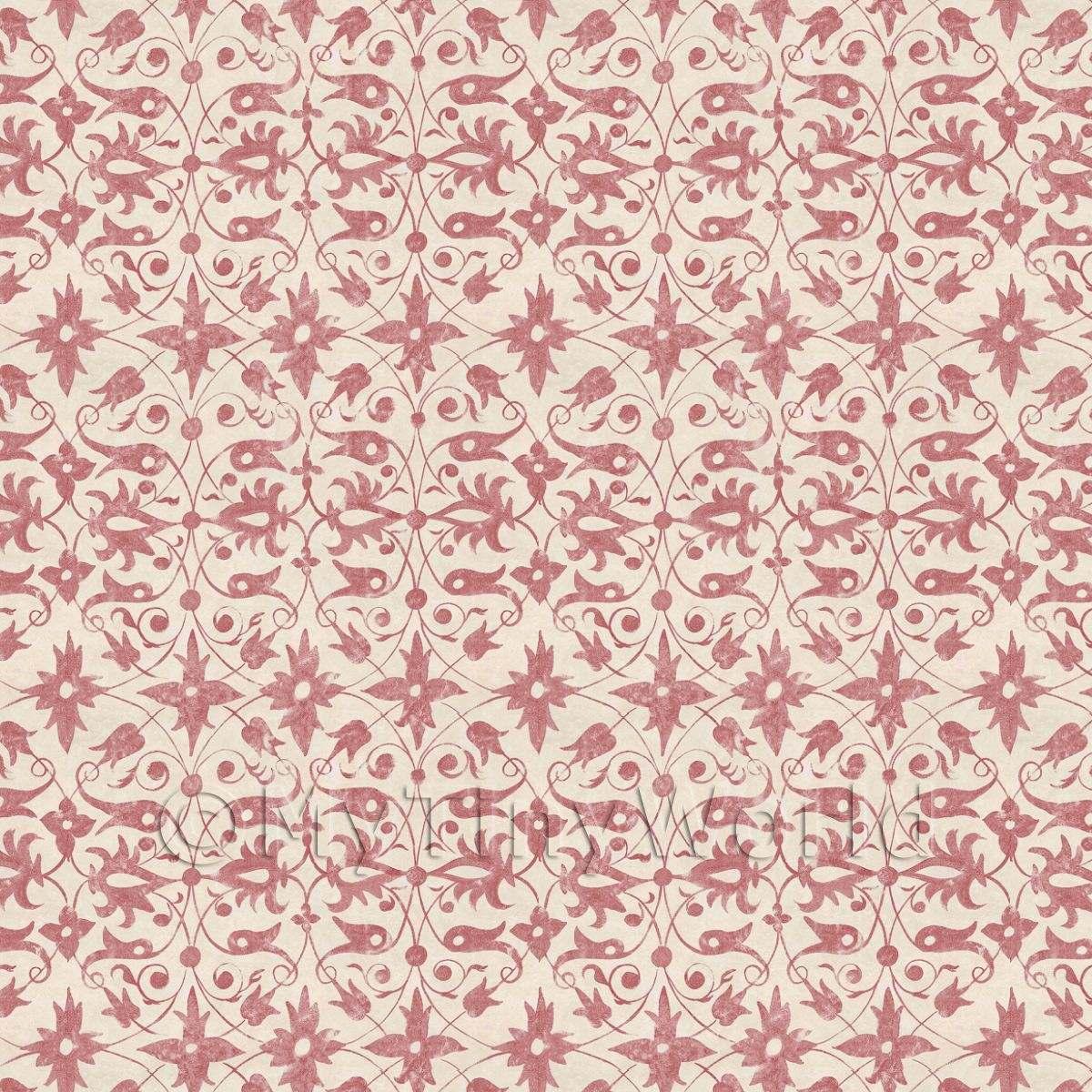 Luxury Dollhouse Wallpaper: Period Style Wallpaper