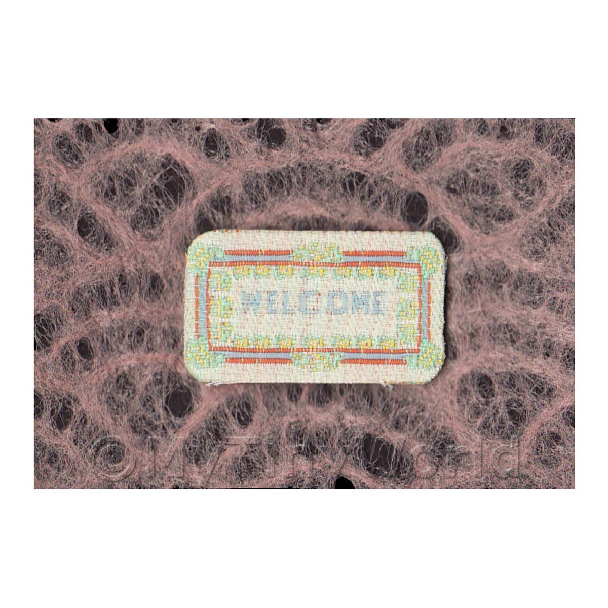 Dolls House Modern Welcome Mat (WM2)