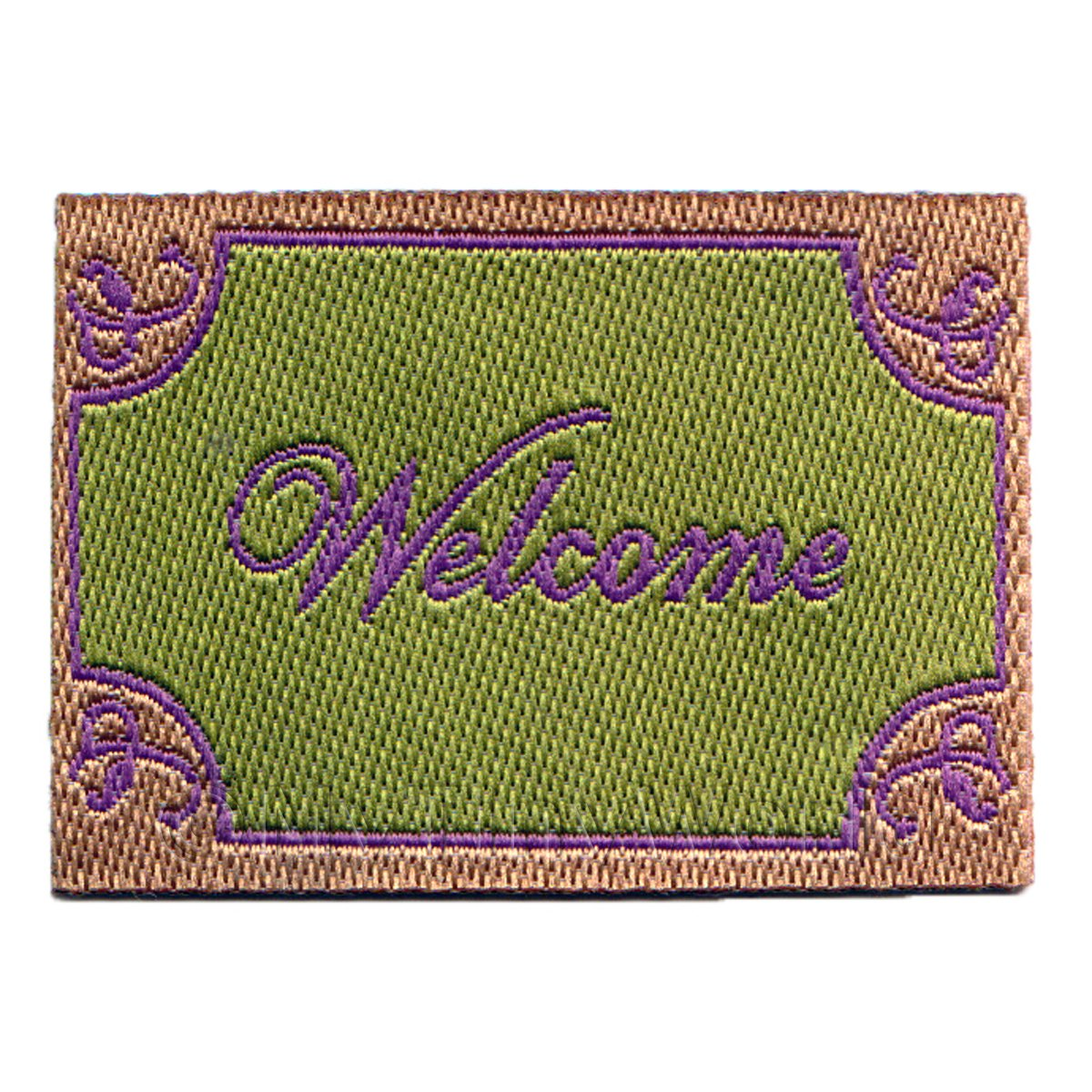 Dolls House Elegant Welcome Mat (WM3)