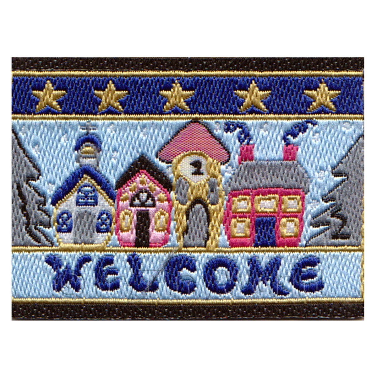 Dolls House Winter Themed Welcome Mat (WM7)
