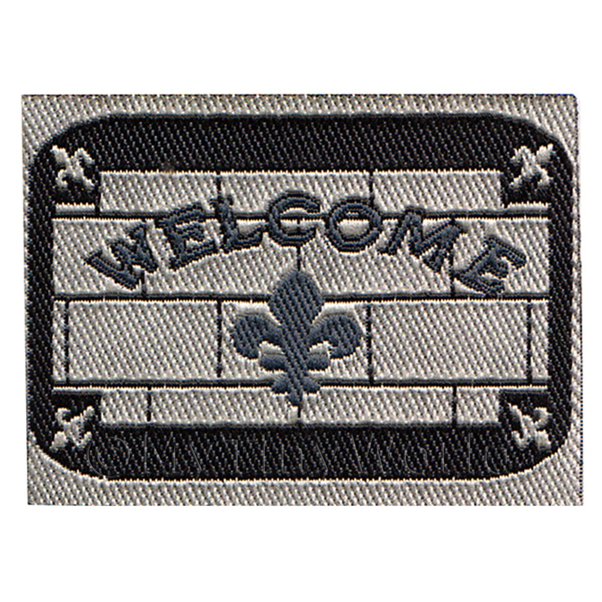 Dolls House Brick Style Welcome Mat (WM5)