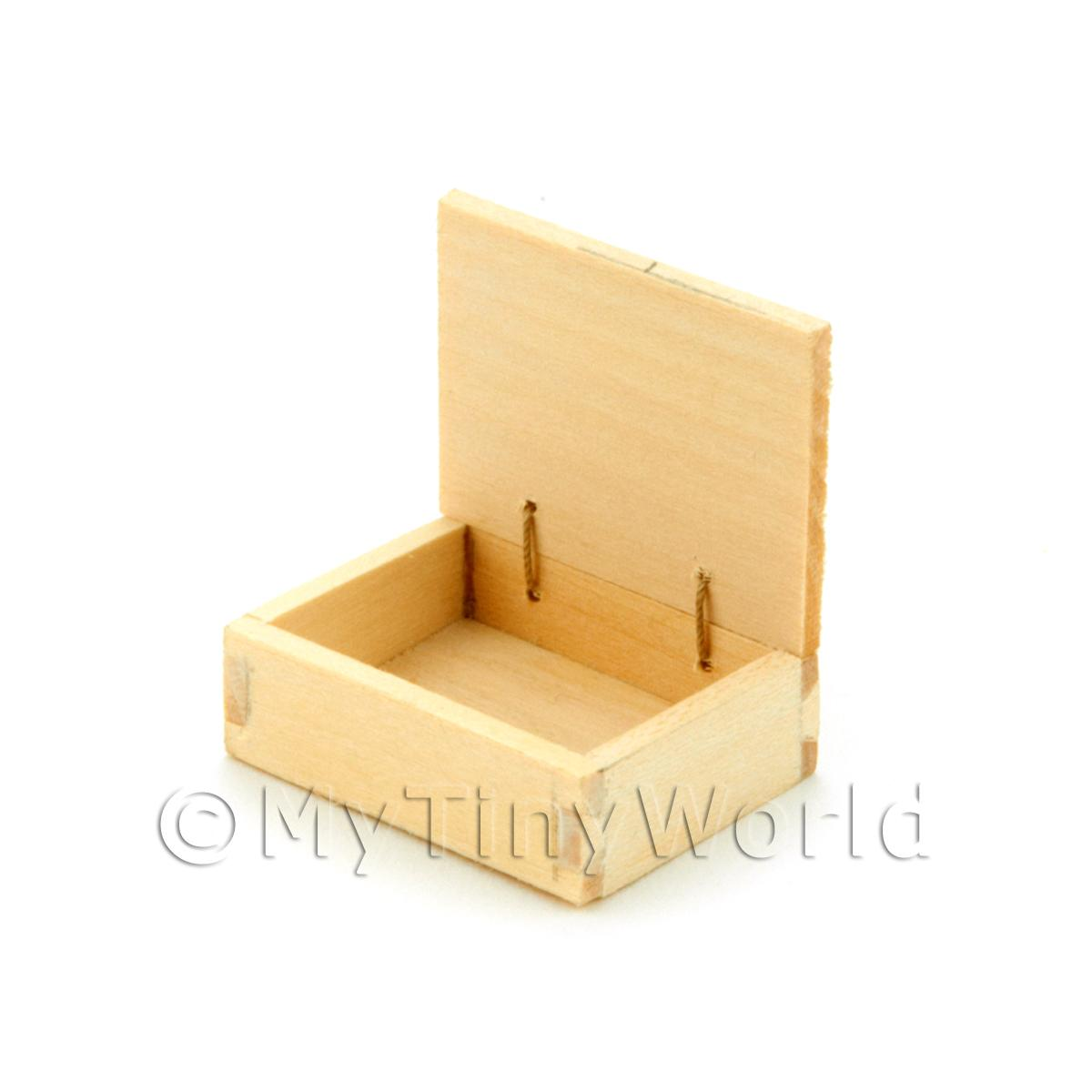 Dolls House Blank Wood Shop Counter Display Box