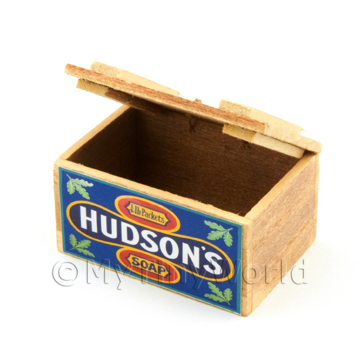 Dolls House Hudsons Wooden Shop Display Box