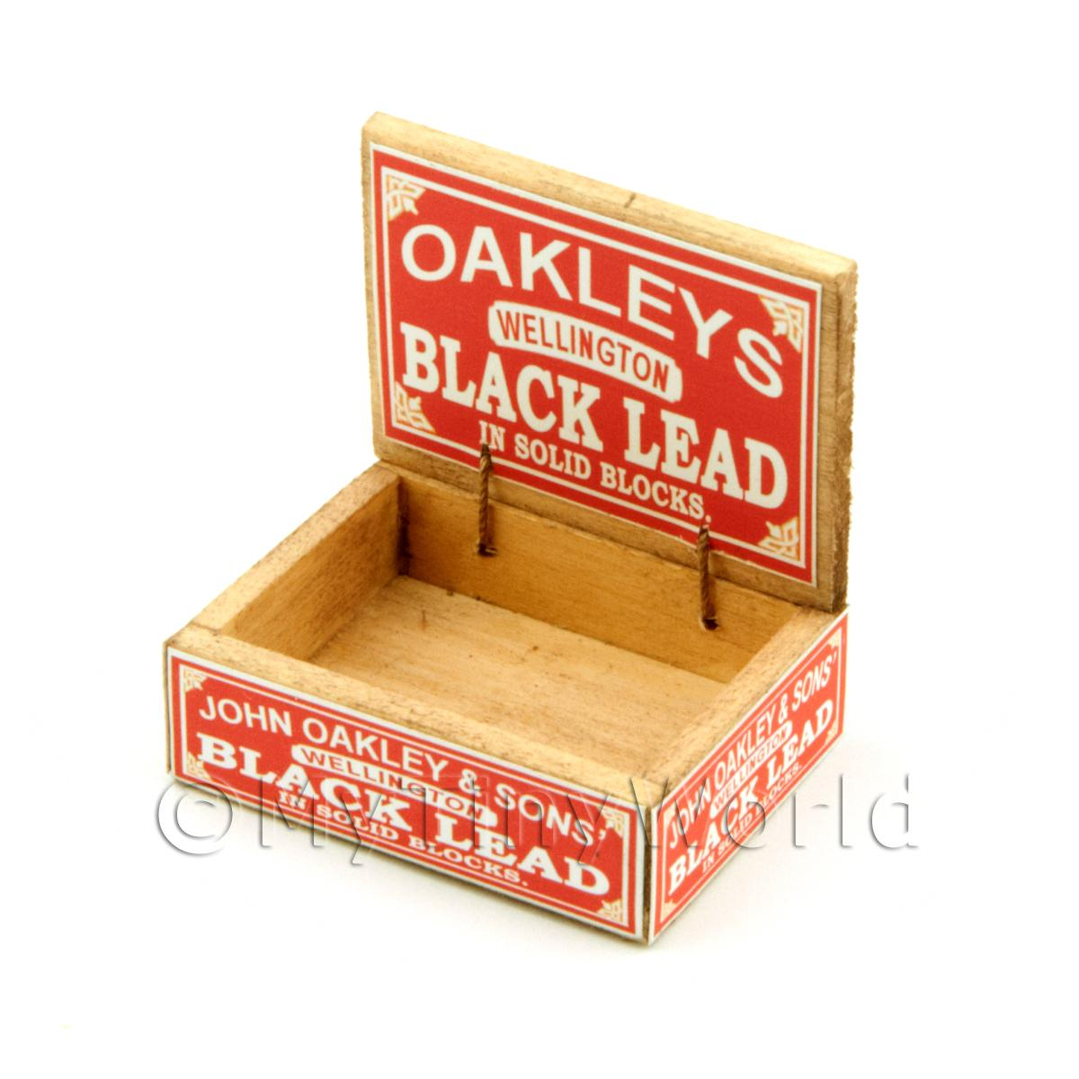 Dolls House Oakleys Lead Shop Counter Display Box