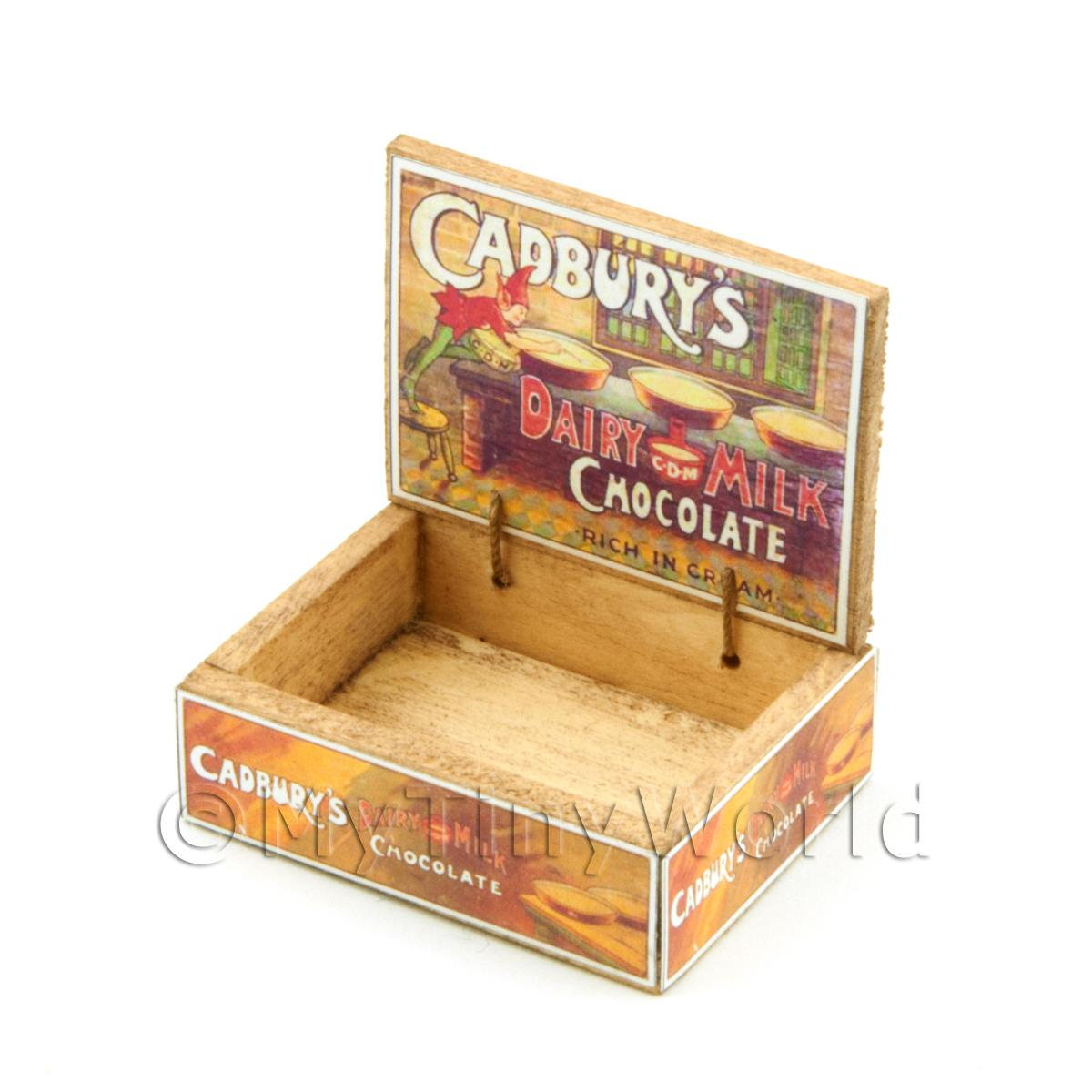 Dolls House Cadburys Chocolate Counter Display Box