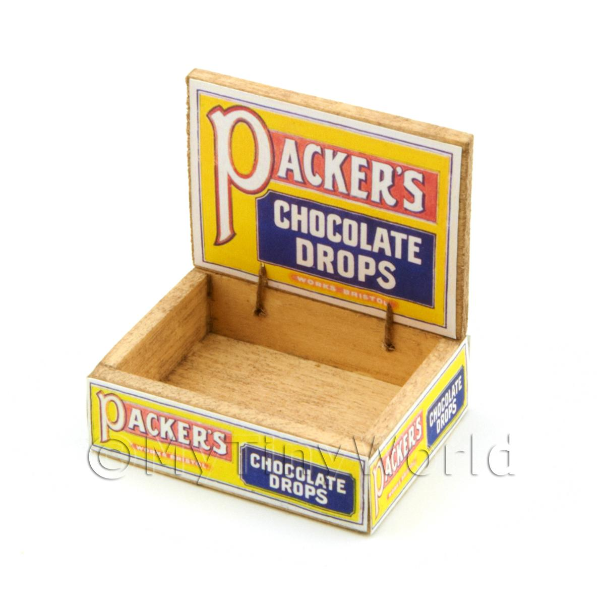 Dolls House Packers Chocolate Counter Display Box