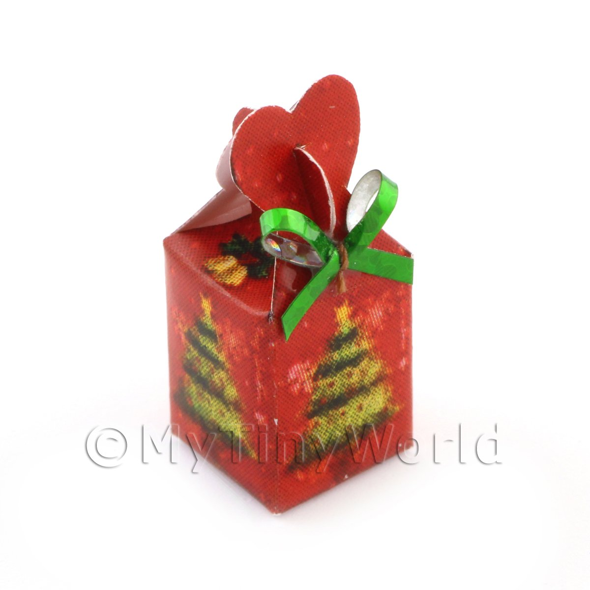 Dolls house Miniature Christmas Box Style 1