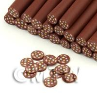 1/12th scale Handmade Smartie Chocolate Nail Art Cane (FNC11)