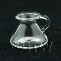 Dolls House Miniature Glass Conical Flask Jug