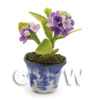 1/12th scale - Dolls House Miniature Violet Verbena