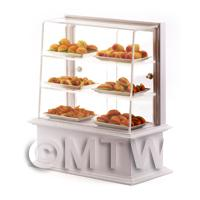 1/12th scale - Dolls House Miniature Loaded Hot Snack Counter