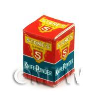 Dolls House Miniature Stones Knife Powder Box
