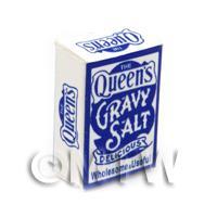 Dolls House Miniature The Queens Gravy Salt  Box